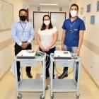 Aquisição de cinco eletrocardiógrafos